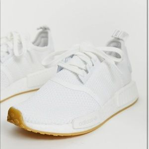 Adidas originals NMD white sneakers 8.5